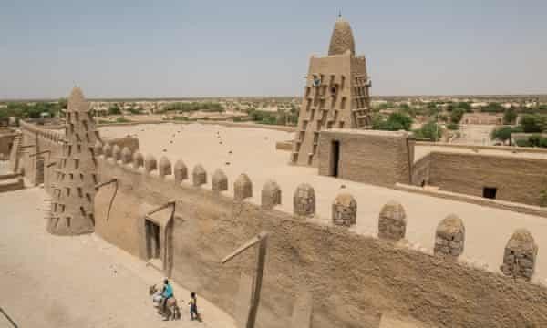 The Djinguereber Mosque in Timbuktu, Mali, Africa.