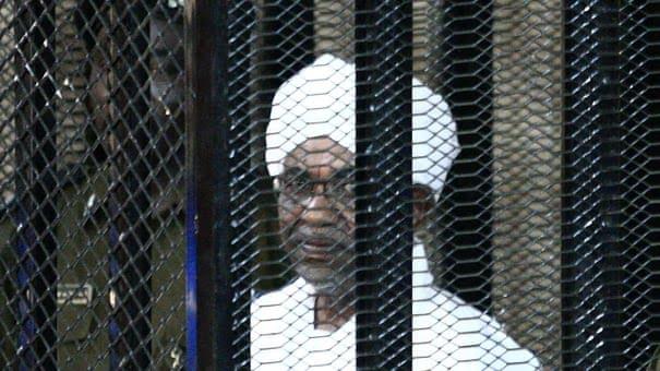 Omar al-Bashir in court