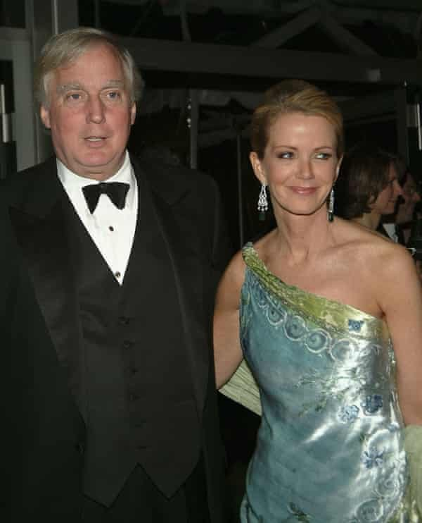 Robert and Blaine Trump at the Annual Spring Gala at the Metropolitan Opera House, New York City, 2005.