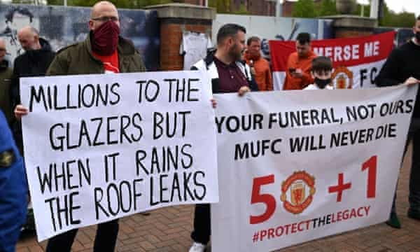 Manchester United protests