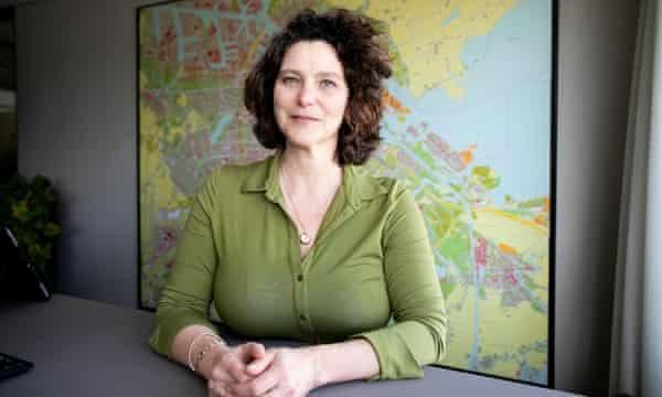 Marieke van Doorninck, teniente de alcalde de Amsterdam