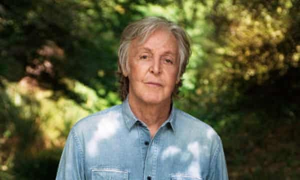 Paul McCartney, photographed by his daughter Mary McCartney in 2020.